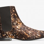 Likes or Yikes: Burberry Prorsum Brown Spotted Calf-Hair Chelsea Boots