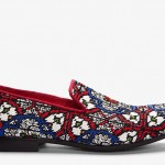 Alexander McQueen Red Woven Stained Glass Loafers: Keep your dream alive