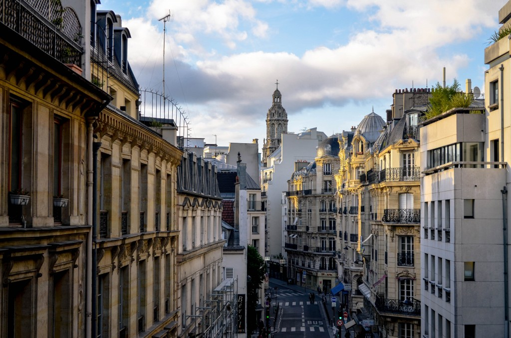 the view from galeries lafayette paris, confused dasher, paris 5 day trip report, what to do and what to see in paris in 5 days, things to do on a last day in paris, the beauty of Rue de Rivoli