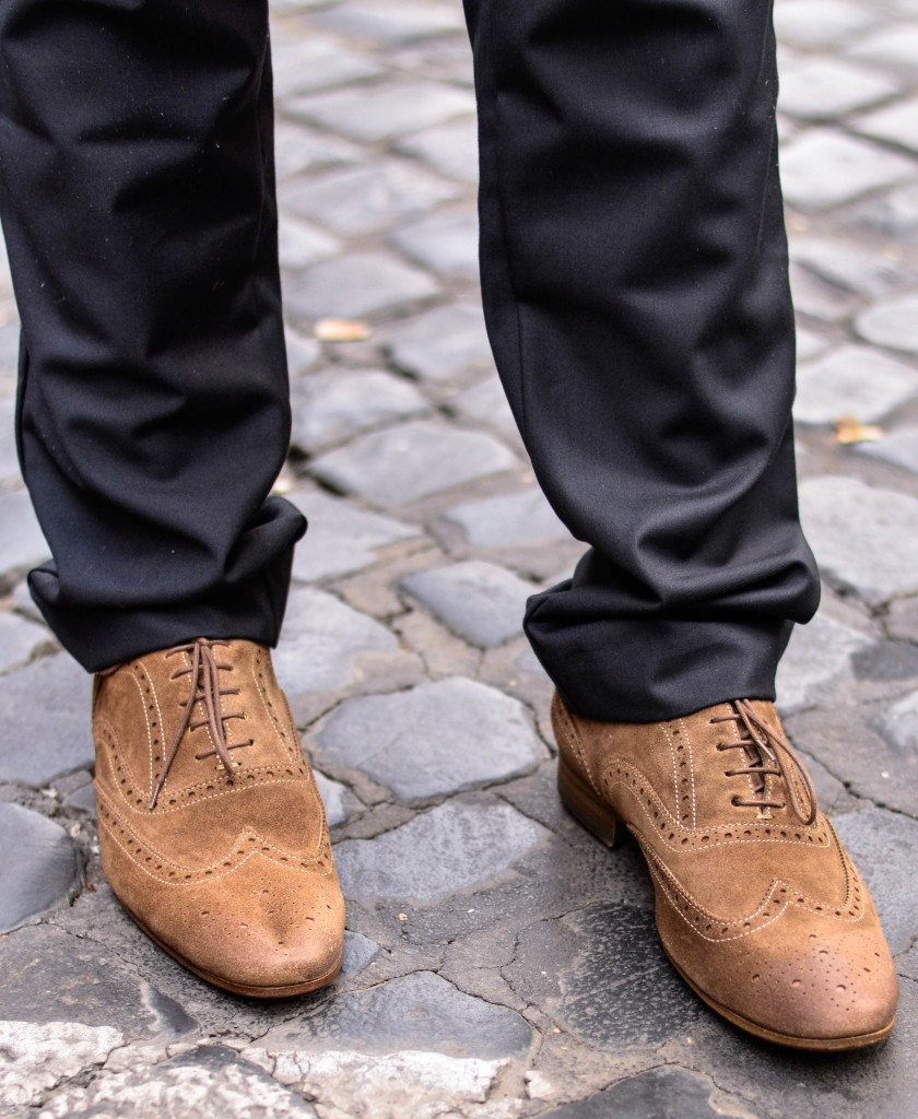 confused dasher in rome, Men's shoes that make a big fashion statement: PS Paul Smith Dip-Dyed Suede Miller Wingtip Brogues. The perfect Wingtip Brogues for men
