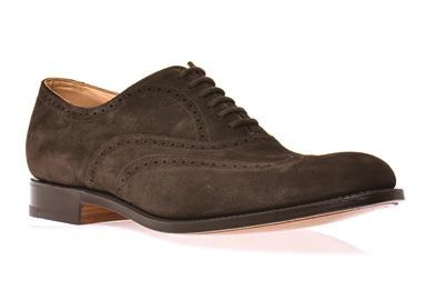 Church's New York leather brogues, matchesfashion sale, confused dasher, best brown suede leather brogues for men