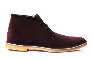 matchesfashion sale, confused dasher, best burgundy velvet desert boots for men pierre hardy