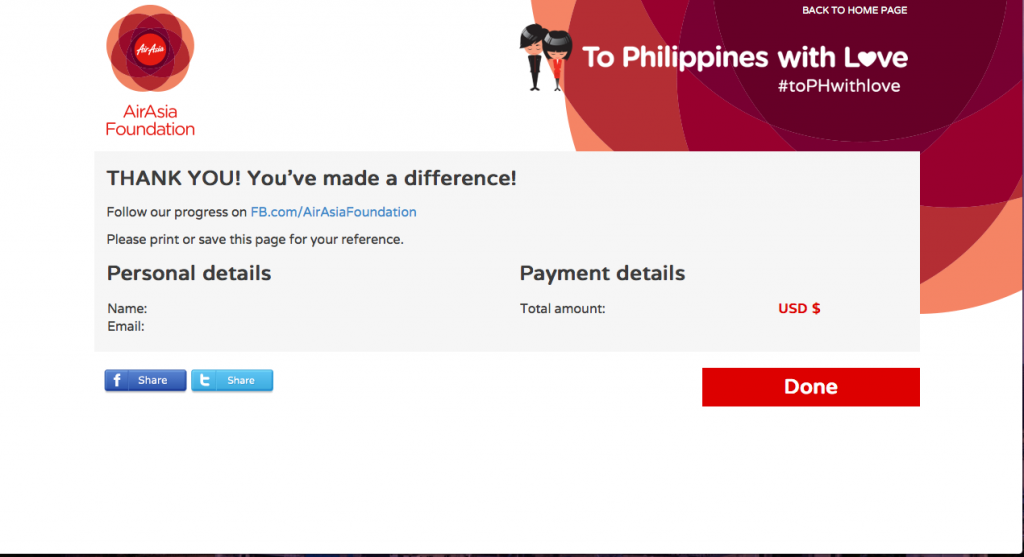 To Philippines With Love AirAsia, confused dasher