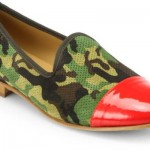 Del Toro Camo Suede Captoe Slippers: Too much flash?