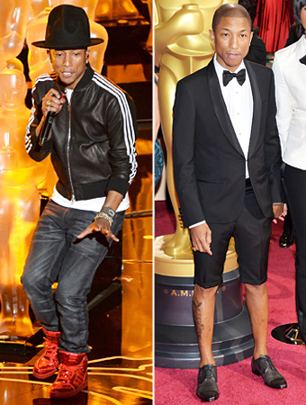 Hello, I'm Pharrell. And I can wear whatever the fuck I want!