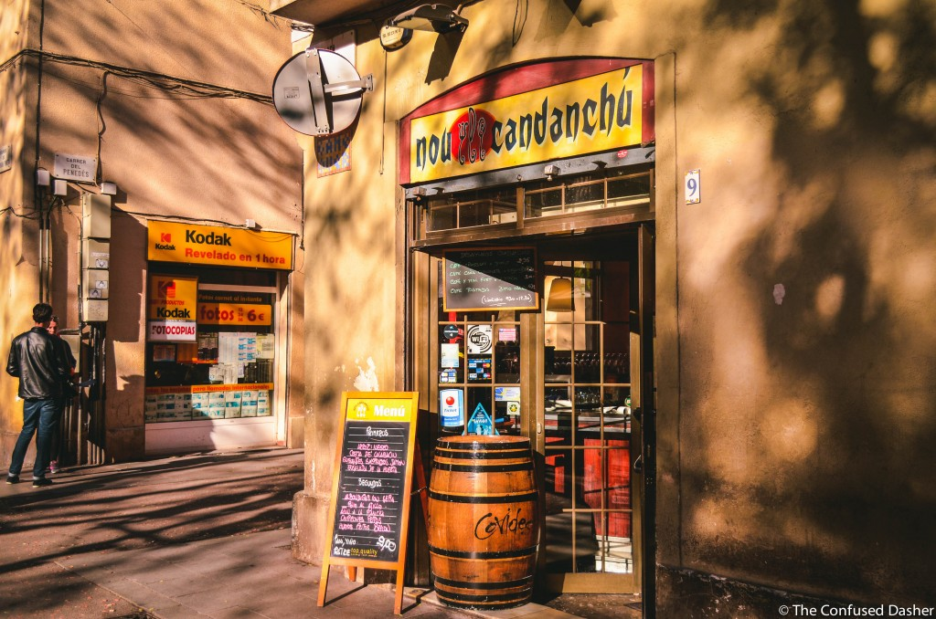 confused dasher, the perfect 3 day itinerary in barcelona, nou candanchu review, where to eat on budget in barcelona, barcelona best cheap eats