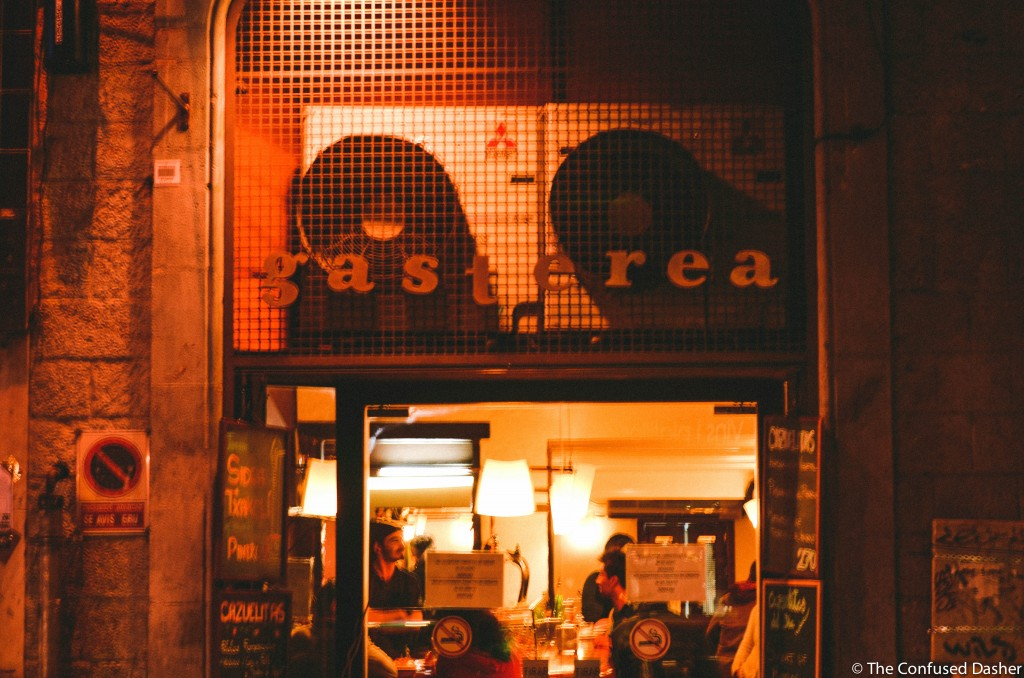confused dasher, gasterea gracia review, where to eat on budget in barcelona, barcelona best cheap eats