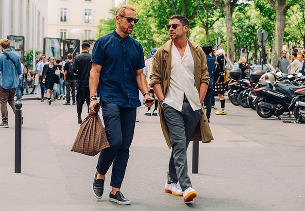 Best Street Style Photos From Menswear Fashion Weeks Spring Summer 2015 The Confused Dasher
