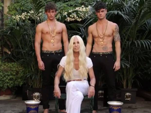 Donatella Versace Accepted ALS Ice Bucket Challenge