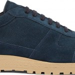 Common Projects Peacock Blue Suede Track Sneakers: Quiet but dangerous