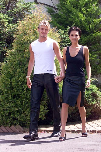 Old photos of Victoria and David Beckham Style