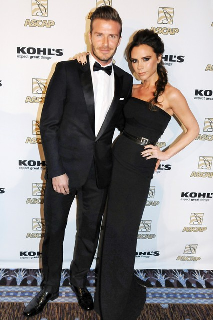 Stylish Look of David and Victoria Beckham