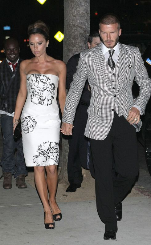 Victoria Beckham David Beckham Stylish Couple