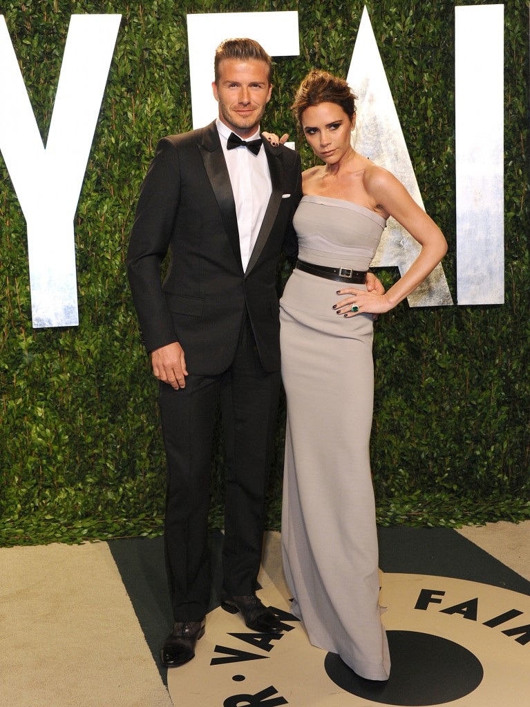 Victoria Beckham David Fashion Red Carpet