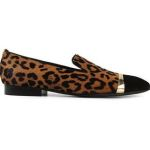 Louis Leeman Contrasting Toe Cap Leopard Print Slippers: Rediscover Your Inner Animal