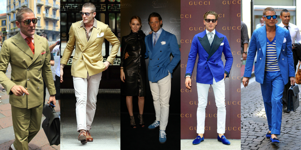 Lapo Elkann Double Breast Vests