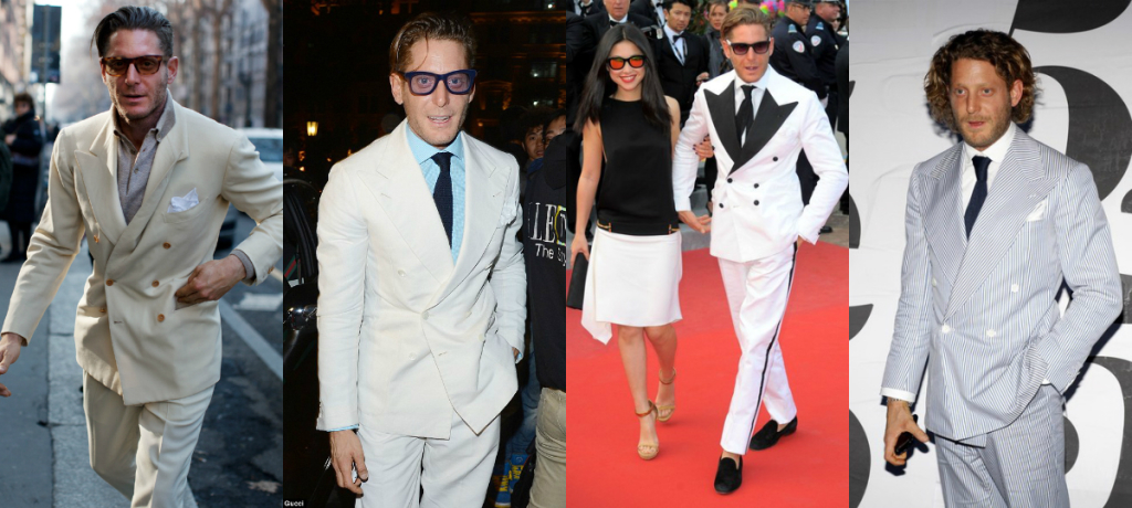 Lapo Elkann Double breast blazers