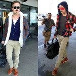 Dressing For the Airport Like Papa Gosling
