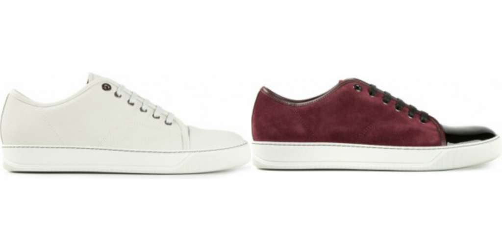 Lanvin iconic low top sneakers