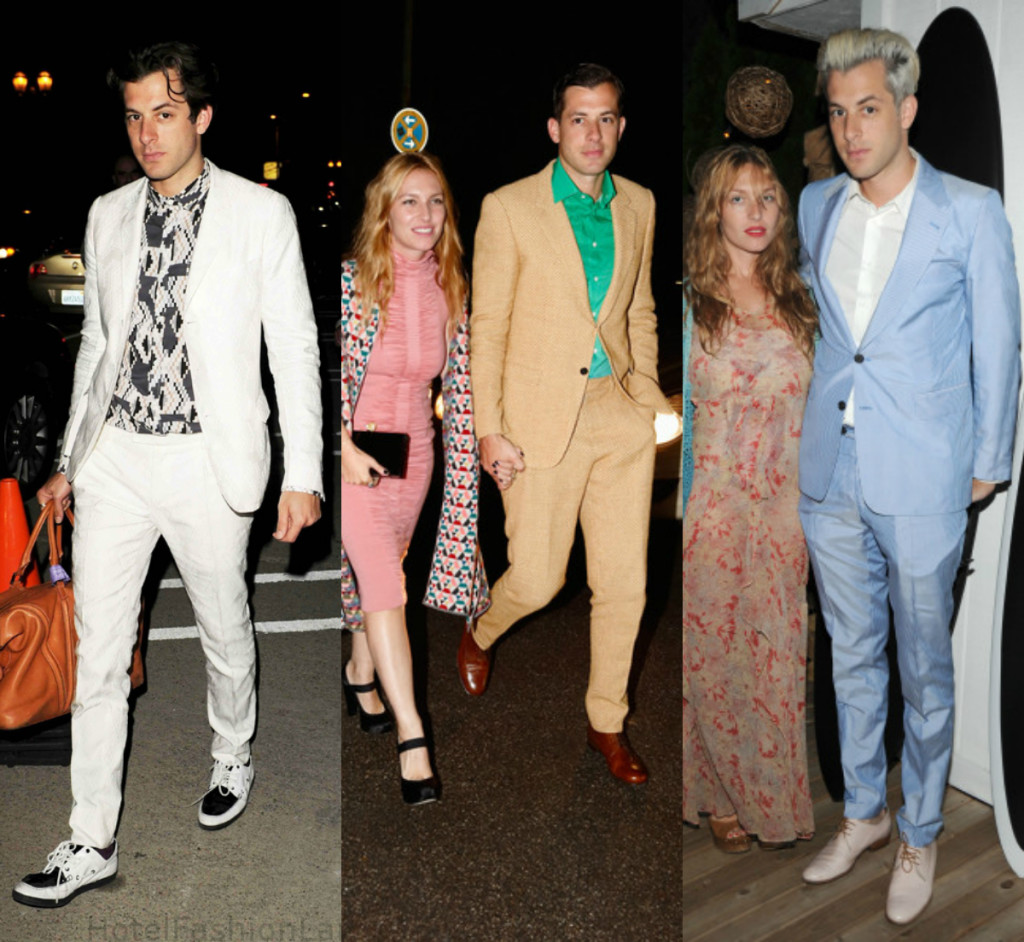 Mark Ronson Bold Color Suits