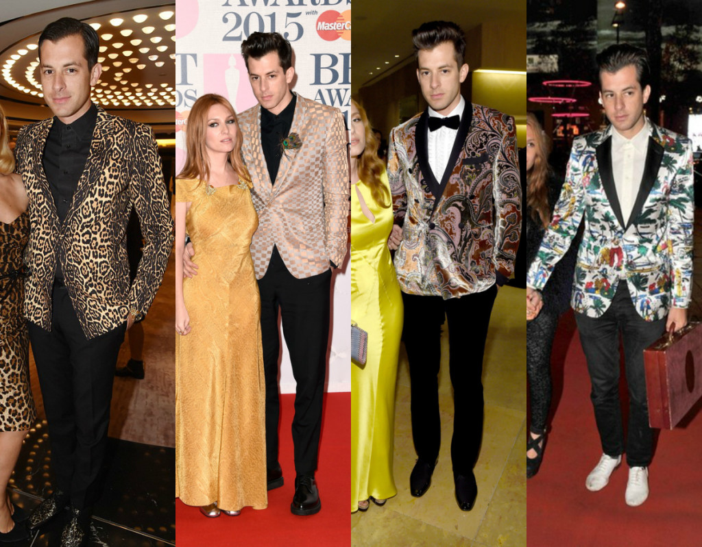 Mark Ronson Bold Fashion Blazers