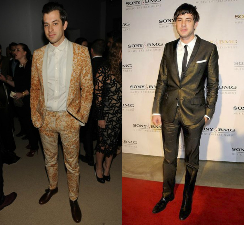 Mark Ronson Statement Suits