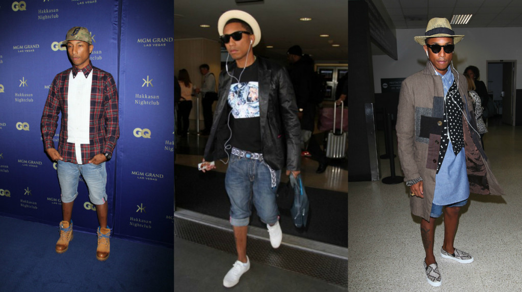Pharrell Denim shorts 2