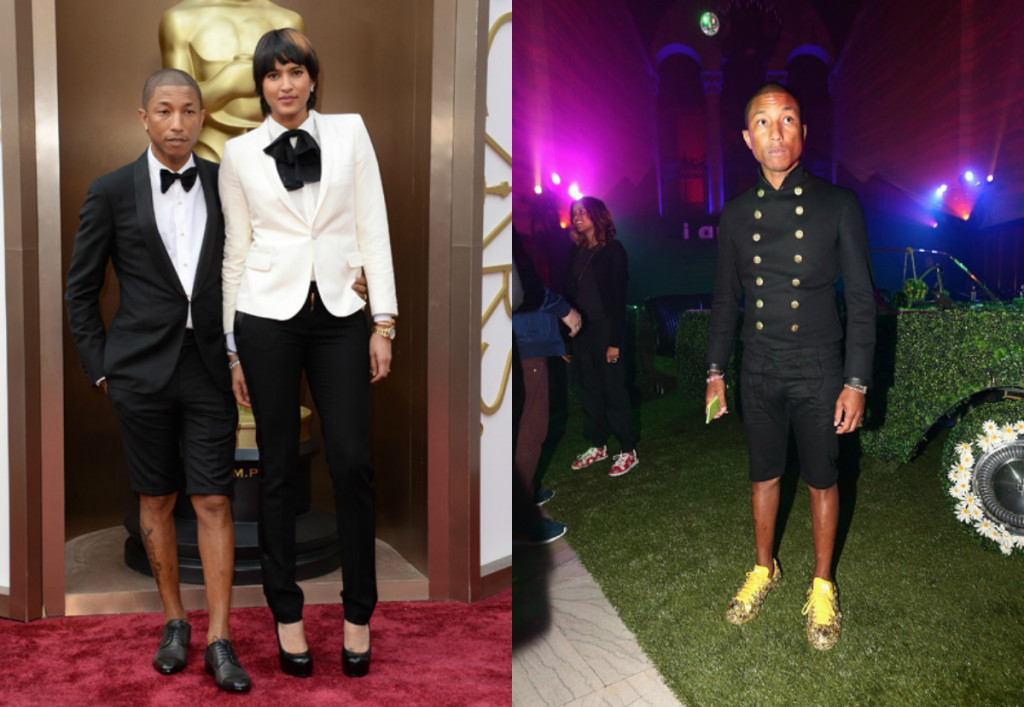 Pharrell Suit shorts 2