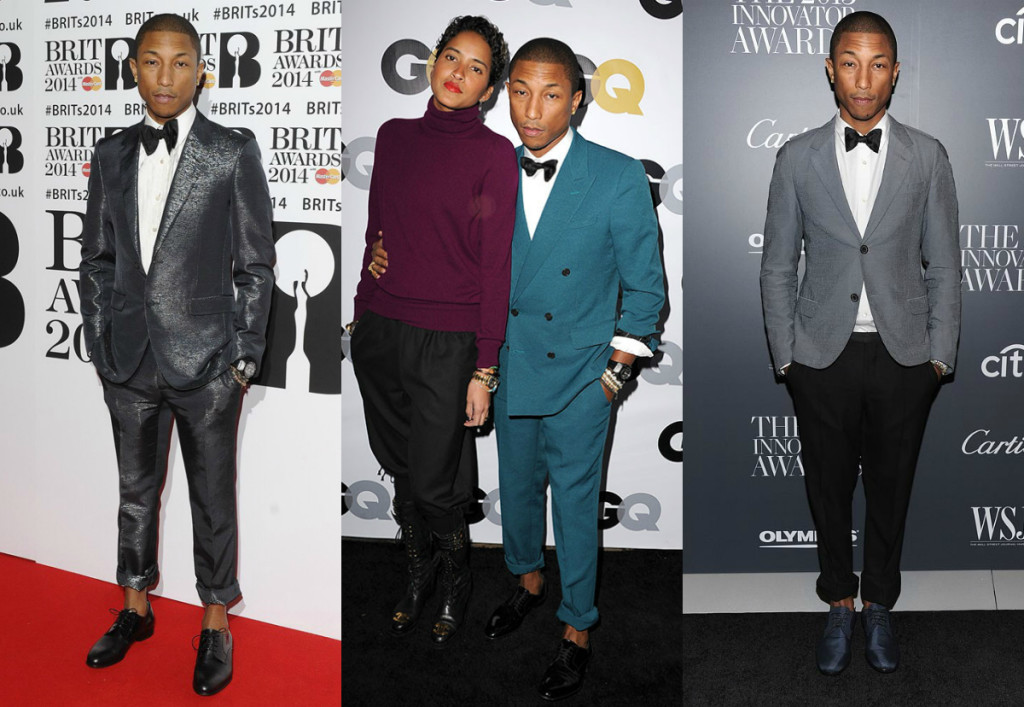 Pharrell rolled up pants